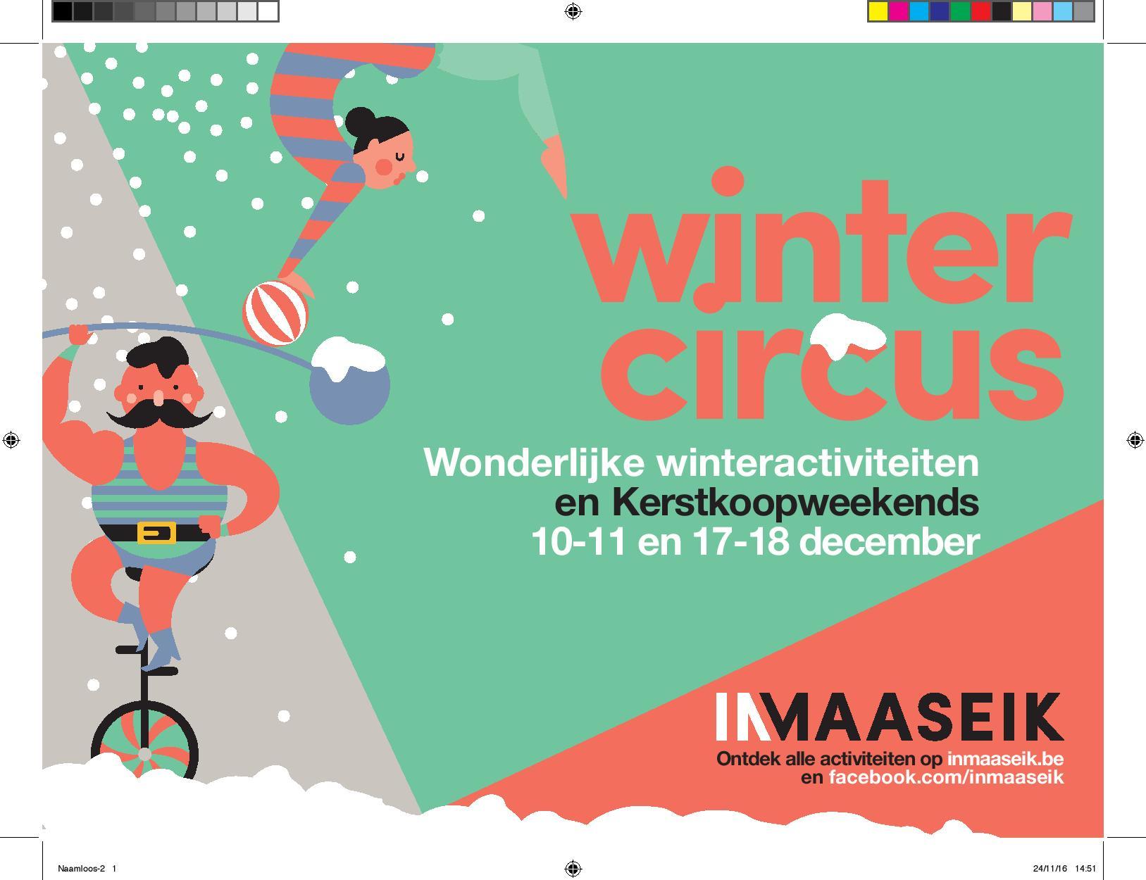 Wintercircus Maaseik @ Maaseik Centrum | Maaseik | Vlaanderen | België