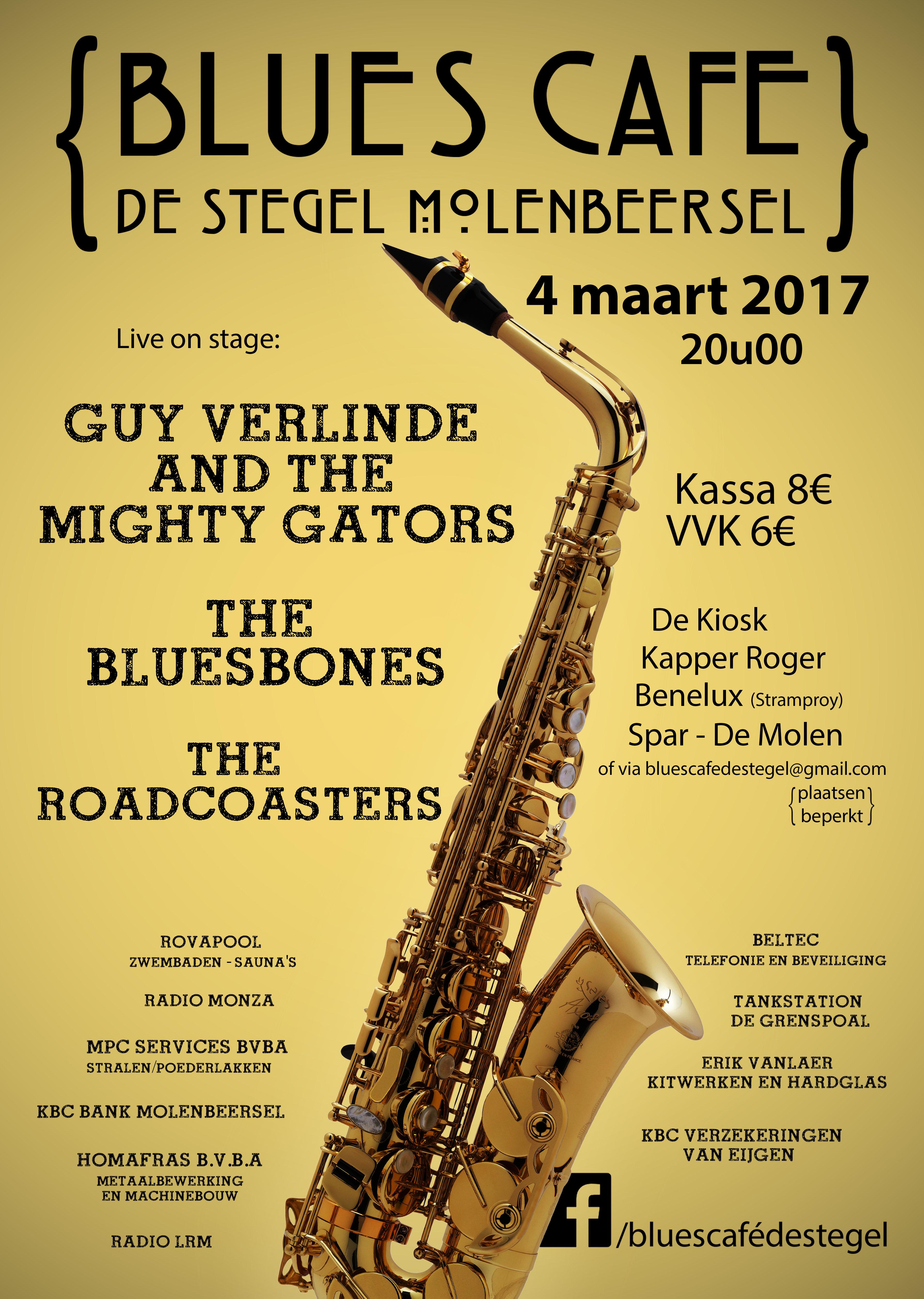 Blues Café @ De Stegel   Kinrooi   Vlaanderen   België