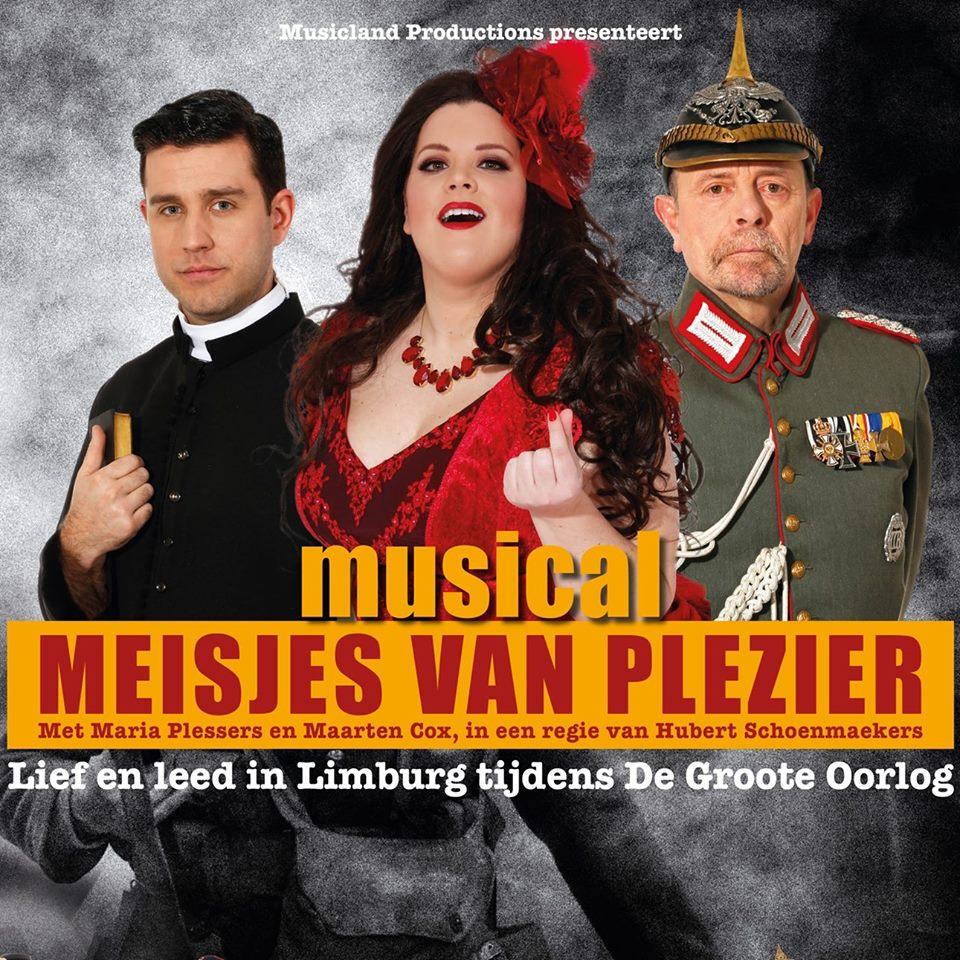Musical: Meisjes van Plezier @ CC Hasselt | Hasselt | Vlaanderen | België