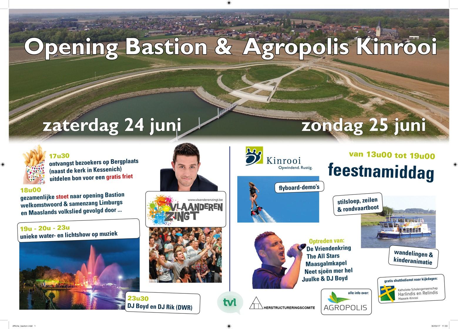 Opening Bastion en Agropolis Kinrooi