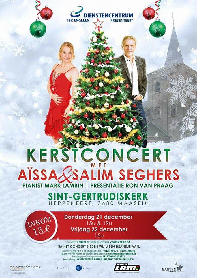 Kerstconcert met Salim Seghers & Aïssa @ Sint-Gertrudiskerk | Heppeneert | Vlaanderen | België