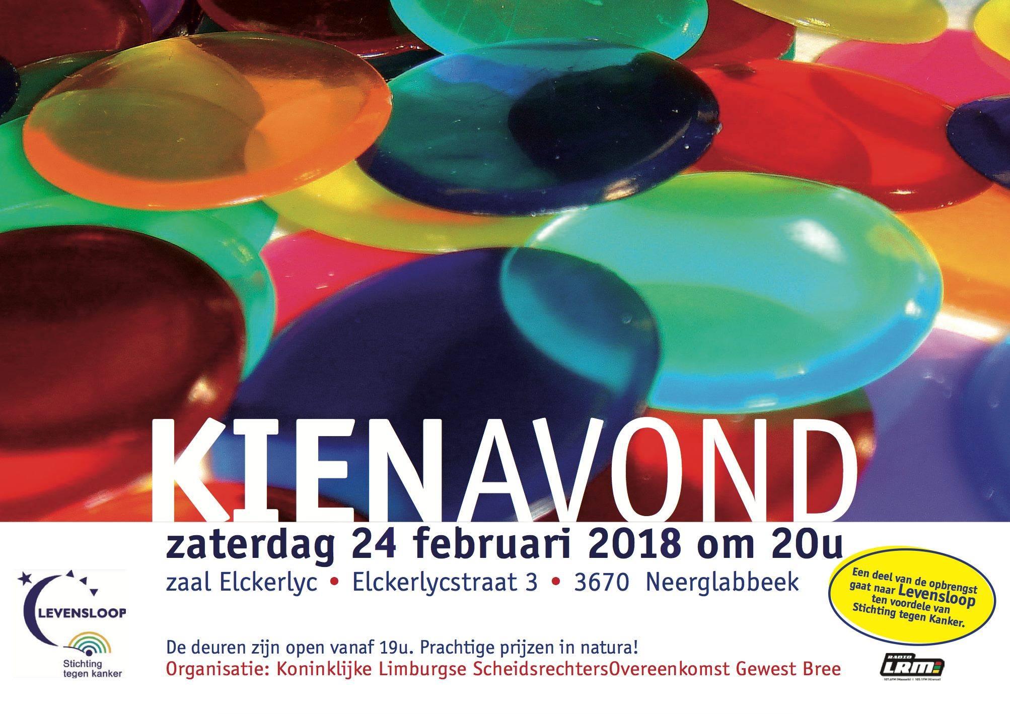 Kienavond @ Zaal Elckerlyc | Gruitrode | Vlaanderen | België